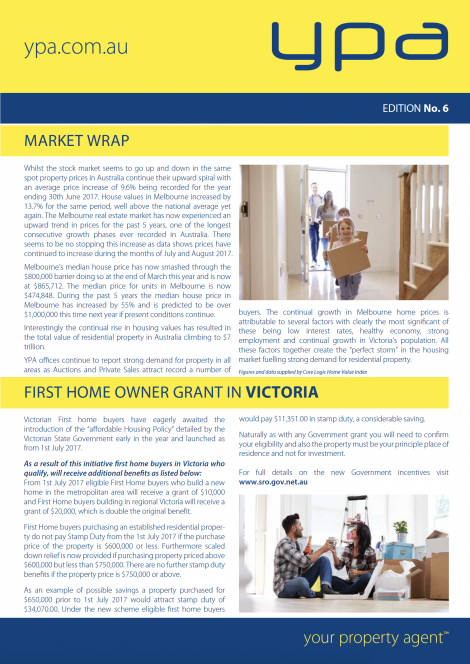 YPA Newsletter